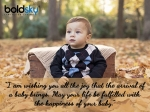 Congratulatory Messages, Wishes & Quotes To Share On The Birth Of A Baby