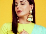 Kirti Kulhari Nails Winter Makeup Look As She Adds A Pop Of Colour To Her Eyes With Neon Green Eye Shadow