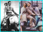 Flashback Friday: Of Vespa Scooters And Vintage Fashion Of Catherine Zeta-Jones And Audrey Hepburn