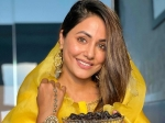 Ramadan 2021: Hina Khan Shines Bright In A Pretty Yellow Suit As She Extends Wishes To Fans