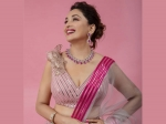 Madhuri Dixit Nene Looks Splendid In A Pink Metallic Lehenga And It's Price Can Afford You A Foreign Trip!