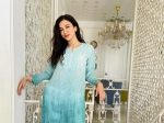 Ramadan 2021: Gauahar Khan's Embroidered Blue Lucknowi Kurti Is All You Need To Ace Festive Look