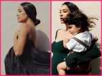 Lisa Haydon Figures Out How To Dress Her Baby Bump And Sets Maternity Goals In Green And Black Chic Dresses