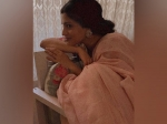 Ajeeb Daastaans Promotions: Konkona Sensharma Beckons Us To Drape An Earthy Tone Saree And Stay At Home