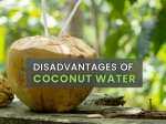 Disadvantages Of Coconut Water: Bad For Diabetes, Athletes And Blood Pressure And More