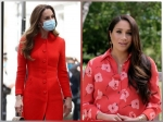 Kate Middleton And Meghan Markle Make A Strong Case For Red! Whose Outfit Did You Like More?