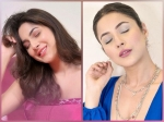 Shehnaaz Gill Nails Trendy Pastel Makeup Looks In The Shades Of Pink And Blue; Which One Did You Like More?