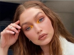 Gigi Hadid Teases Fans With Her Summer-Perfect Tangerine-Yellow Eye Makeup; Copy It Now!