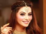 Urvashi Rautela's Glam Makeup And Twisted Hairstyle Make For A Complete Flawless Wedding Look