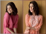 Kajal Aggarwal Flaunts Peach And Rani Pink Kurta Sets; Which Attire Did You Like More?