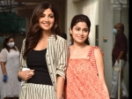Shilpa Shetty Kundra And Shamita Shetty Look Gorgeous In Their Stunning Striped Outfits