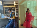 Haseen Dillruba Promotions: Taapsee Pannu Flaunts Two Gorgeous Sarees; Which Saree Did You Like More?