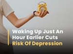 Waking Up Just An Hour Earlier Linked To Lower Risk Of Depression, Says Study