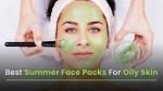5 Best Easy Homemade Facepacks For Oily Skin