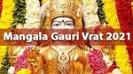 Mangala Gauri Vrat 2021: Date, Muhurat, Rituals And Significance Of This Festival