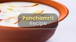 Panchamrit Recipe: Here's How You Can Make It