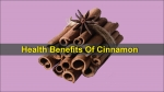 Cinnamon: Health Benefits, Nutritional Profile And Side Effects