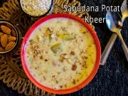 Sabudana Sweet Potato Kheer Recipe