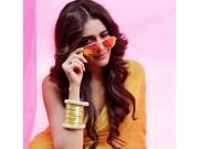 Karishma Tanna's Yellow Sari