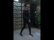 Sushmita Sen's All-Black Gym Wear