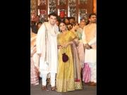 Vidya & Siddharth's Ethnic Outfits