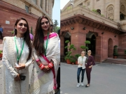 Nusrat & Mimi's Parliament Fashion