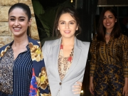 Ileana, Huma, And Yami In Chic Outfits