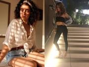 Sanya And Anusha's Fashion