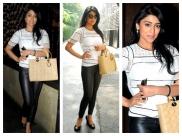 Shriya Saran Looks Killer In Edgy Style