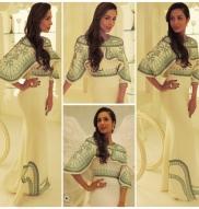 Malaika Flaunts Her Curves In Pankaj & Nidhi Gown