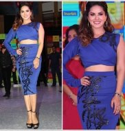 Sunny Leone Flaunts Her Curves At Fitness Video Launch