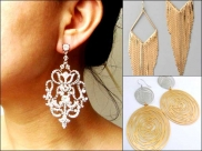 Trend Alert! Statement Earrings To Try This Season