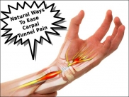 3 Natural Ways To Ease Carpal Tunnel Pain