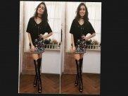 Shraddha Kapoor Turns Heads In Punk Style Book On Nack Baliye Sets