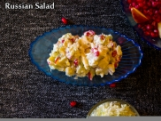 Russian Salad Recipe: How To Prepare Vegetarian Russian Salad