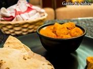 Gatte Ki Sabzi Recipe: Rajasthani Besan Gatte Ki Sabzi
