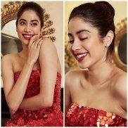 Janhvi Kapoor look Diva in Red Gown at Zee Cine Awards:  Recreate Subtle Yet Bold Look!