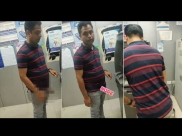 Man Flashed His Penis Inside An ATM And Got Caught
