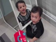 Scary Video Of Boy's Reflection In Mirror Leaves Netizens Baffled