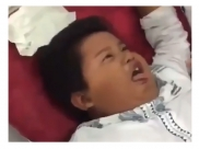 This Video Of A Boy 'Fainting' At His Circumcision Will Put A Smile On Your Face