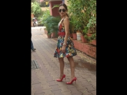 Malaika Arora's Colourful Dress Is What You Need On A Dull Rainy Day