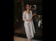 Kiara Advani Oozes Elegance In Her Floral Ivory Suit