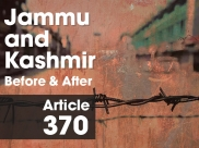 Jammu & Kashmir No Longer A Separate Constitution: The State Before And After Article 370
