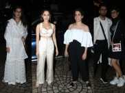 Nushrat Bharucha And Other Bollywood Divas Kept Their Fashion Game Strong At Dream Girl Screening