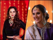 Sania Mirza Keeps Her Jewellery Game Strong At Sister, Anam Mirza's Wedding Festivities