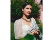 Fatima Sana Shaikh Woos Us With Her Gorgeous Stripes Saree And Striking Jewellery