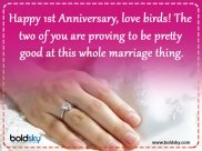 First Wedding Anniversary Quotes, Wishes, Messages And Images To Share
