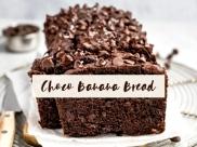 Healthy and Festive Dairy/Gluten-Free Choco Banana bread