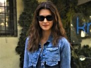 Kriti Sanon Makes Denim On Denim Look Super Stylish With Her Jacket And Jumpsuit Combo