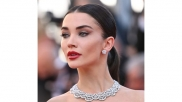 Cannes 2021: Amy Jackson's Dramatic Red Gown Looks Straight Out From The Pages Of History Books On Royals
